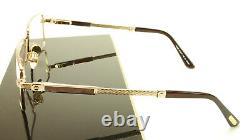 Paul Vosheront PV368 C1 23KT Gold Plated Eyeglasses Frame Italy Made