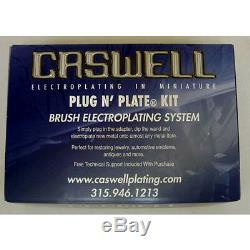 Plug N Plate Gold Metal Plating Kit Restores Gold Plating