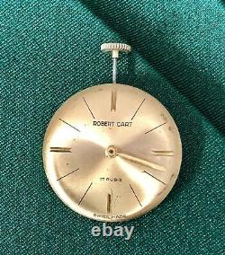 Pocket Coin Watch by ROBERT CART Gold Plated 10 Microns TO BE RESTORED One FRANC