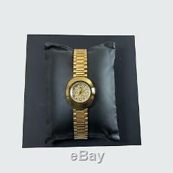 Rado Original Automatic Swiss Gold Plated Women's Wrist Watch R12416393