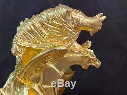 Randy Bowen Batman Gold Plated Bronze Statue Prototype #2