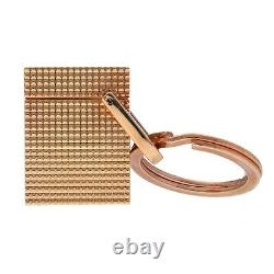 S. T. Dupont Paris Rose Gold Plated Imitation Lighter Keychain Men's Gift