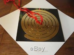 SPIRAL HANGER for 8 CHRISTMAS MOBILE ORNAMENTS 24 carat gold plated GEORG JENSEN