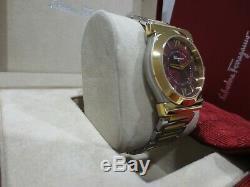 Salvatore Ferragamo Men's FI0030015 Vega Stainless Steel Gold Ion-Plated Watch