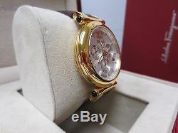 Salvatore Ferragamo Women's F77LCQ5091 SB42 Idillio Gold Ion Plated Purple Watch