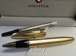 Sheaffer Legacy Heritage Brushed 22K Gold Plate Roller Ball