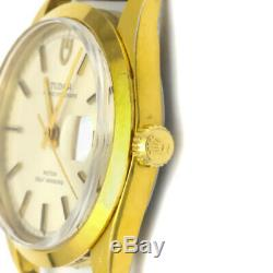 TUDOR Prince Oyster Date Gold Plated Automatic Watch 9050/1 Head Only BF339147