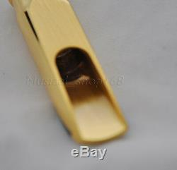 Top Newest gold plated alto saxophone sax metal mouthpiece size 7