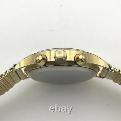 USSR Luxury POLJOT Chronograph 3133 Gold Plated Limited GAZ Watch Tachymeter Men