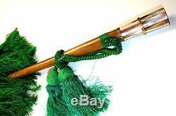 Umbrella. Nacre. Embroidered Silk. Metal Gold Plating. Wood. France  XIX