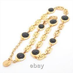 Versace Medusa Chain Belt Gold Plated Gold