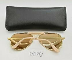Vintage B&L Ray Ban Bausch & Lomb 58mm RB50 The General W0363 Outdoorsman withCase