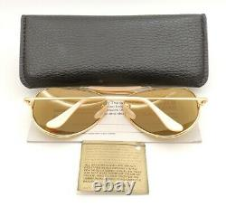 Vintage B&L Ray Ban Bausch & Lomb RB50 62mm The General Outdoorsman W0364 withCase