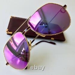 Vintage CARTIER VENDOME Laque de Chine sunglasses 22K gold plated 59/16 unisex