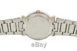 Vintage Gucci 9000M Stainless Steel Bi-Metal Quartz Midsize Watch 1710