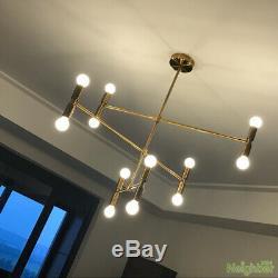 Vintage Industrial Retro Metal Pendant Lamp Chandelier Suspension Hanging Lights