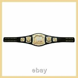 WWE Championship Spinner Replica Title Belt Gold Plated Metal Adult Spin Belt