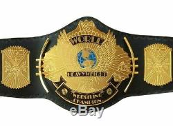WWE WWF Classic Gold Winged Eagle Championship Belt Brass Metal Plated Adult