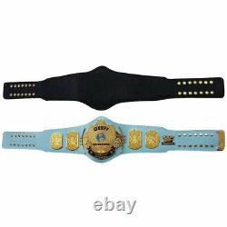 WWE/WWF Classic Gold Winged Eagle Championship Belt Brass Metal Plated Adult