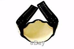 World Heavyweight Championship customized Title Belt Brass Plated Metal Adult