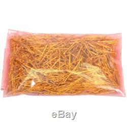 1-pound Récupération Scrap D'or Précieux Métal Plaqué Or Pogo Connecteurs Pins