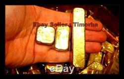 300 Grammes D'or Fondu Gouttes Scrap Pins Plaqué Or Pour Récupéré Cadeau Non Solide