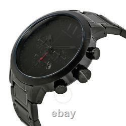 Armani Exchange Chronograph 49mm Black Ion Plaqué Steel Men's Watch Ax1277