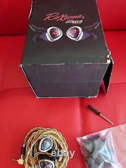 Astell & Kern Jh Audio Roxanne Full Metal Jacket A & K + Iem Plaqué Or Câble Argent