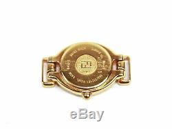 Authentique Fendi Orologi 640l Gold / Boîte Et 5 Couleurs Bandes En Cuir