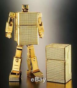 Bandai Soc Soul Of Figurine En Métal Plaqué Or 18k Lightan Gx-32 Gold Light