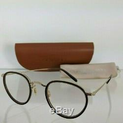 Brand New Authentic Oliver Peoples Ov1104 5278 Mp-2 18k Plaqué Or 1104 Cadre