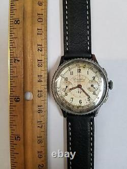 Breitling Chronomat 769 Chronographe Rare Chromé Cas Vintage 217012