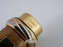 Cartier Vendôme Ovale Plaqué Or Pen Livraison Gratuite Dans Le Monde