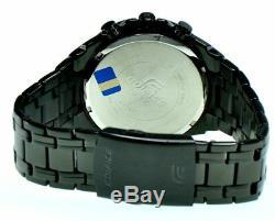 Casio Edifice Efr539bk-1a Efr539bk-1a Chronographe Noir Ion Plaqué 100m Wr