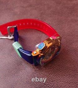 Casio G-shock Gm-110rb-2a Gm110rb-2a Rainbow Ion Placage Tout Nouveau Rare