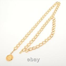 Chanel Coco Mark Chain Belt Or Plaqué