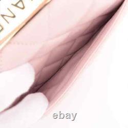 Chanel Trendy CC Lambskin 2way Plaque Sac À Main En Métal Or Rose Série 31 A92236