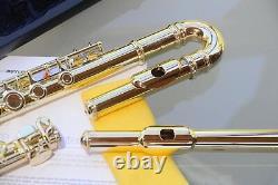 Curved Flûte Dorée C-foot New Sterling Parfait Pour Les Plus Petits Étudiants