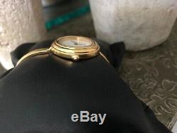 Gucci 11 / 12.2 18k Gp Femmes Montre-bracelet En Métal D'or Bezel