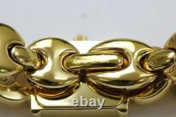 Gucci 1800l Gold Plated Quartz Ladies Watch