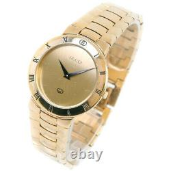 Gucci 3300m Montres Or Plaqué Or Hommes Ordial