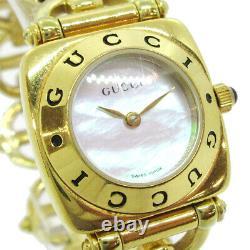 Gucci 6400l Ladies Quartz Montre-bracelet Gold Plaquée 0118878 32922