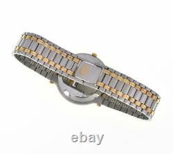 Gucci 9000m Acier Inoxydable / Plaqué Or Ivoire Cadran Quartz Montre Homme G#106500