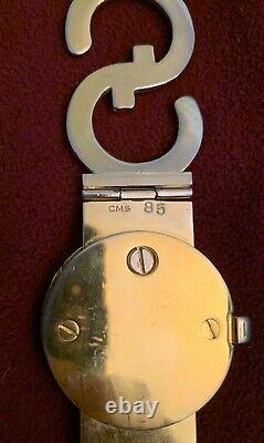 Gucci Années 1970 Vintage Gold Plated Logo Chain Belt Very Rare 31.25 Pouces