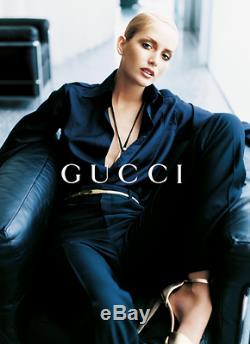 Gucci Ceinture Chaîne Serpent En Maille Métal Doré Skinny Tom Ford Super Rare