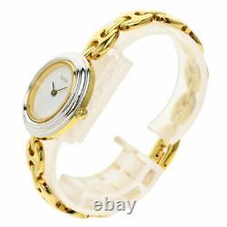 Gucci Changer Lunette Montres 11 / 12.2 Plaqué Or / Plaqué Or Dames