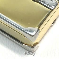 Gucci Old Gucci Trunk Bag Charm Porte-clés Gold Plaqué / Metal Silver X Or