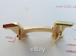 Hermes Plaqué Or Jaune Brillant Boucle H 42mm, Nouveau