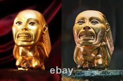 Indiana Jones Fertility Idol'hero' Prop Replica, Metal With 24k Gold-plating