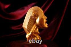 Indiana Jones Fertility Idol'hero' Réplique D'accessoires, Metal Avec 24k Gold-plating
